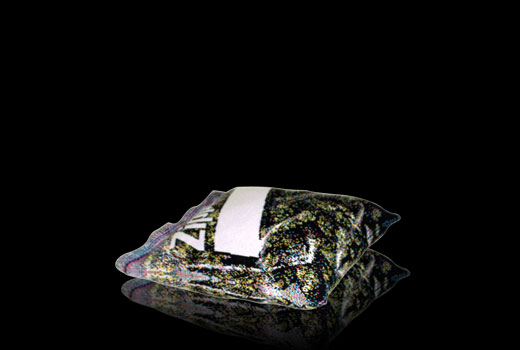 It IS a pillow knit to look like a Ziplock baggie of weed!!