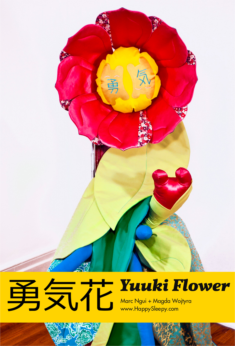 Yuuki Flower Assembly booklet cover