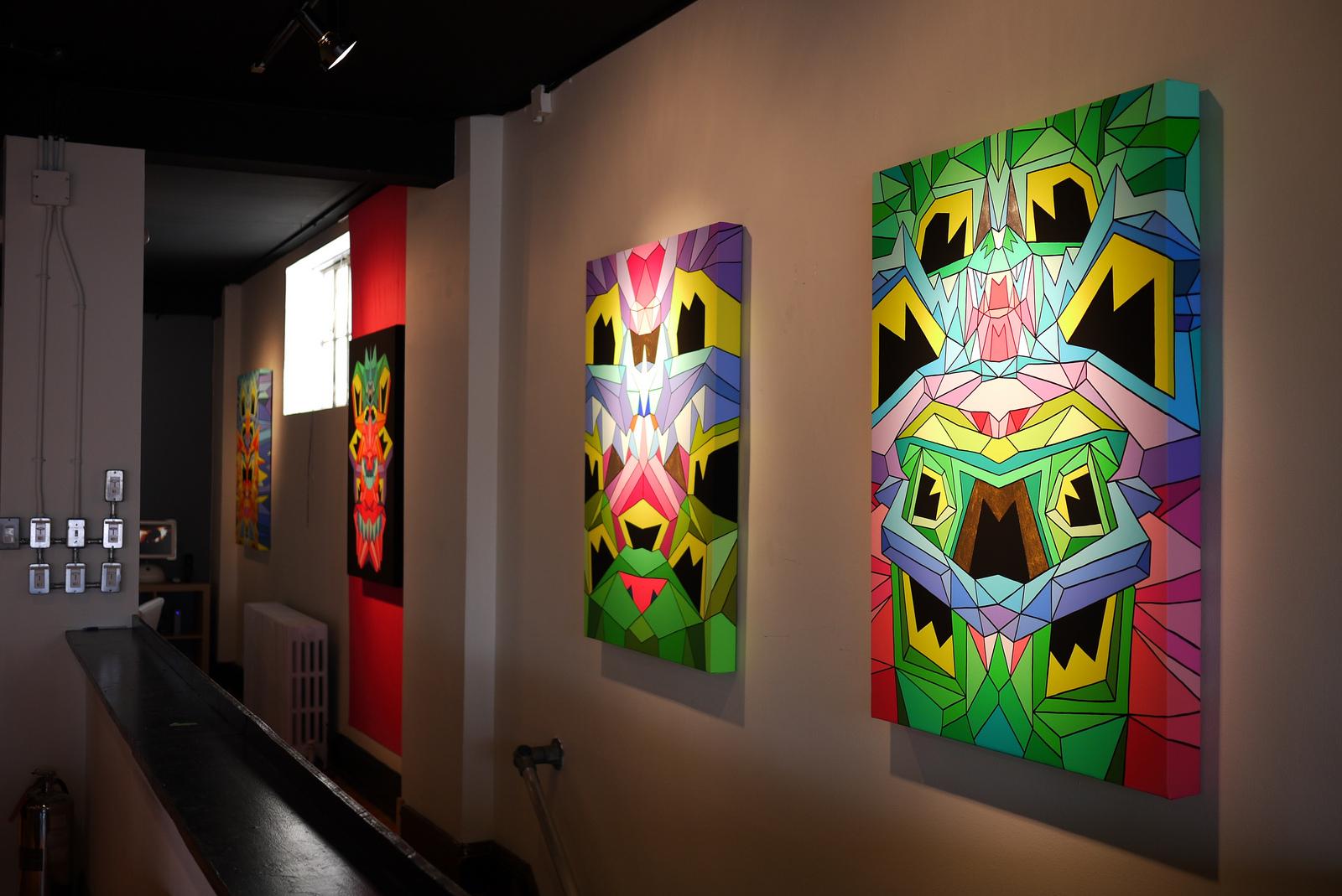Crystal King 4 paintings