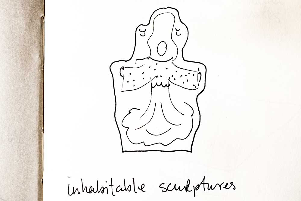 Inhabitable sculpture