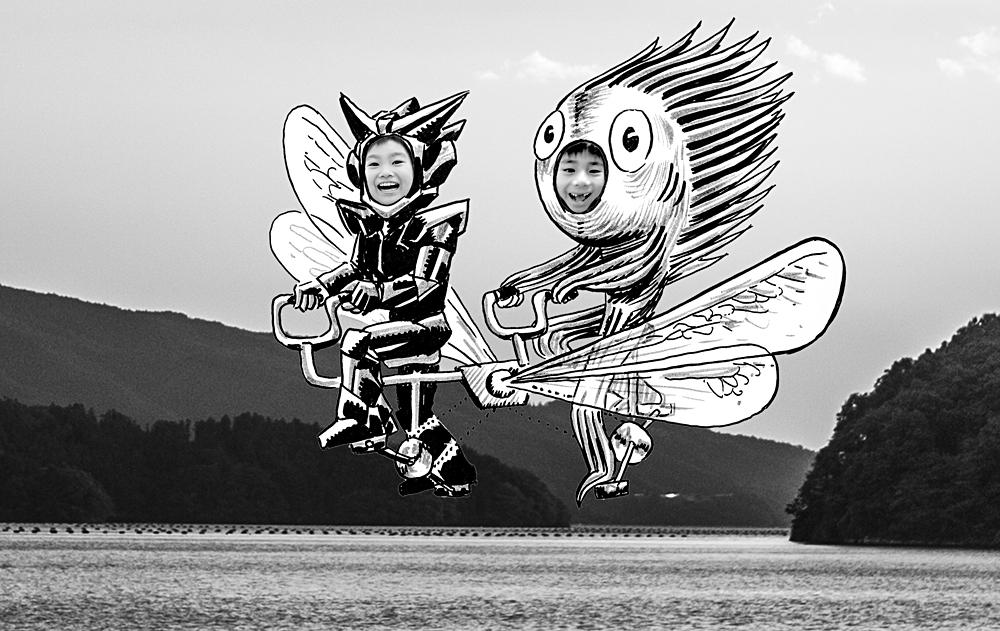 Tandem Flight Onagawa