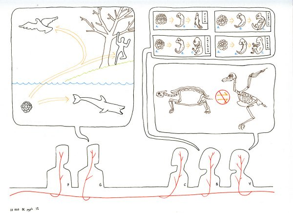 Drawing A Thousand Plateaus,10,000 BC, paragraph 12b