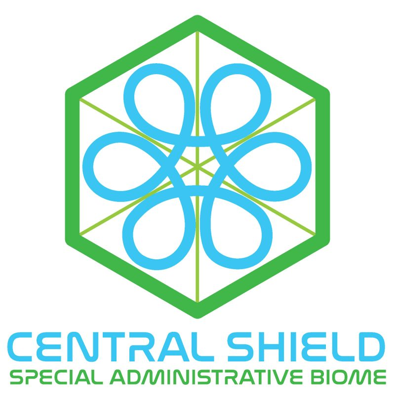 Central Shield square logo and wordmark
