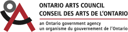 Ontario Arts Council Support Acknowledgement Logo