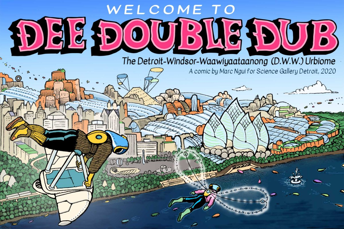 Welcome to Dee Double Dub title panel
