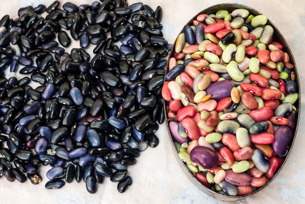 Beans for sale, Tepoztlan, Mexico