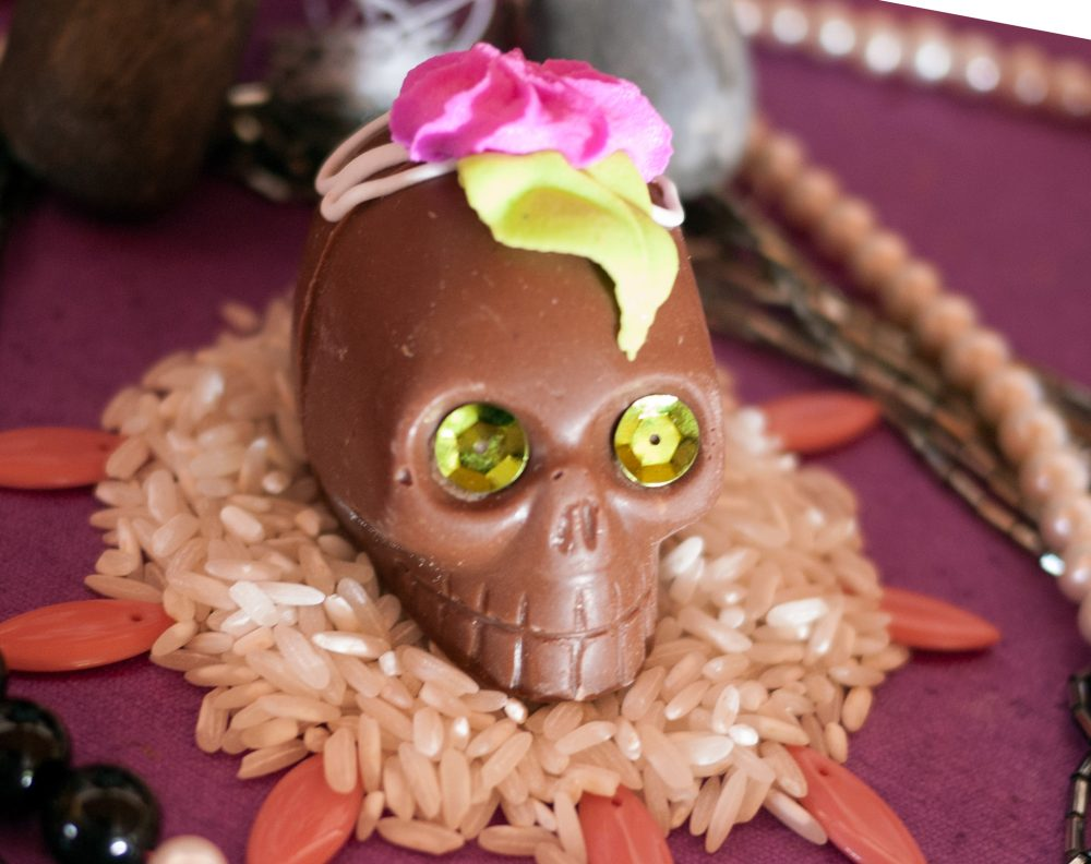 chocolate-sugar-skull-and-rice