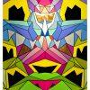 Crystal King Bunny painting by Marc Ngui and Magda Wojtyra