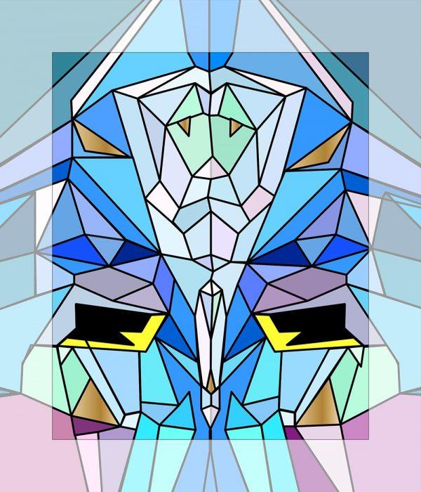 Crystal King Icicle painting digital sketch by Happy Sleepy