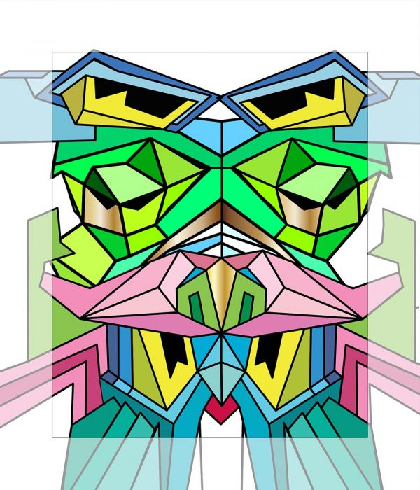 Crystal King Snowcap painting digital sketch by Happy Sleepy