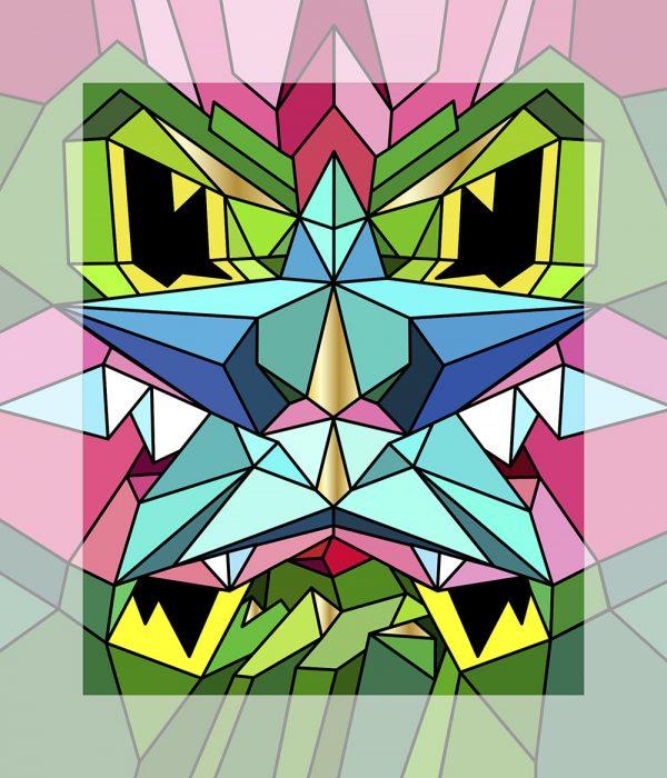 Crystal King Starnose painting digital sketch by Happy Sleepy