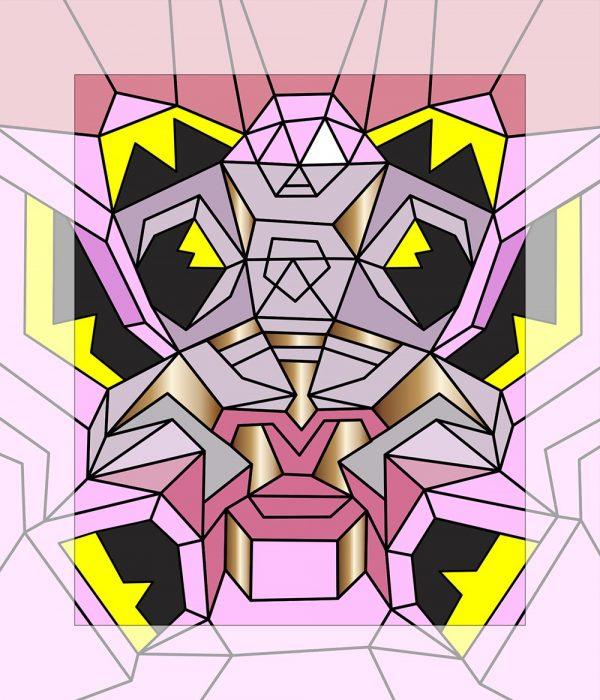 Crystal King Tick painting digital sketch by Happy Sleepy