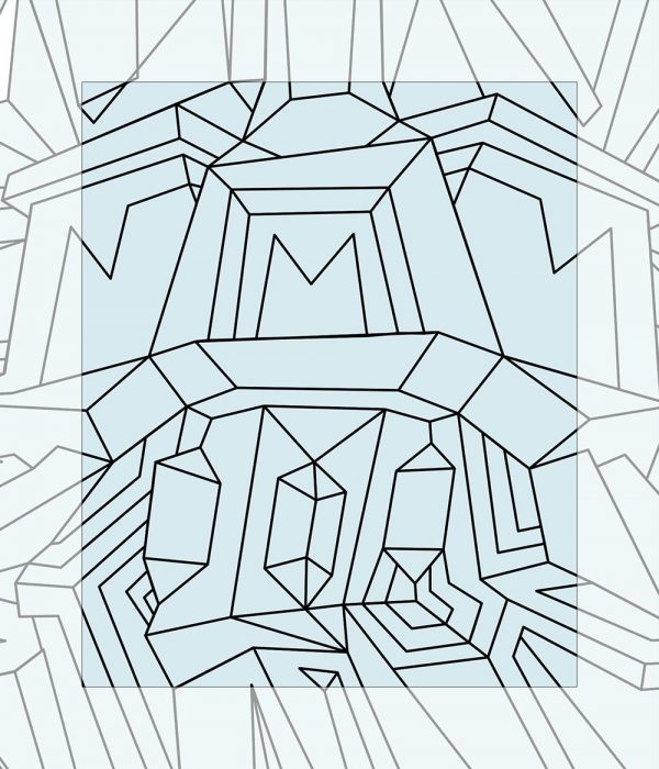Crystal King Transistor painting digital sketch by Happy Sleepy