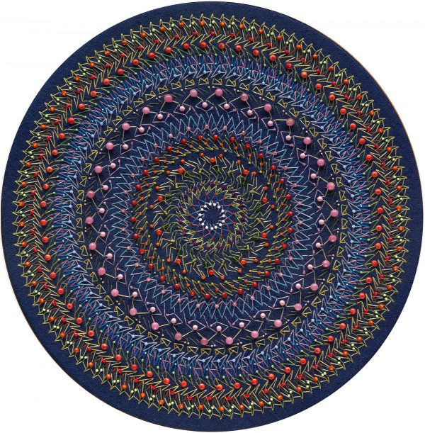 Embroidered Mandala