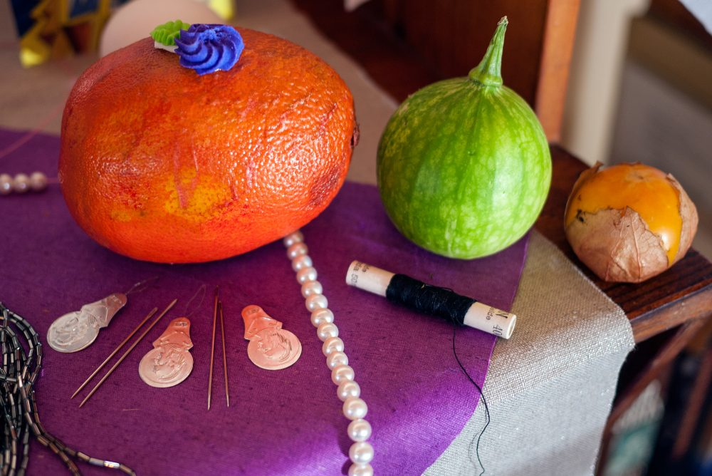 fruit-and-needles-offering