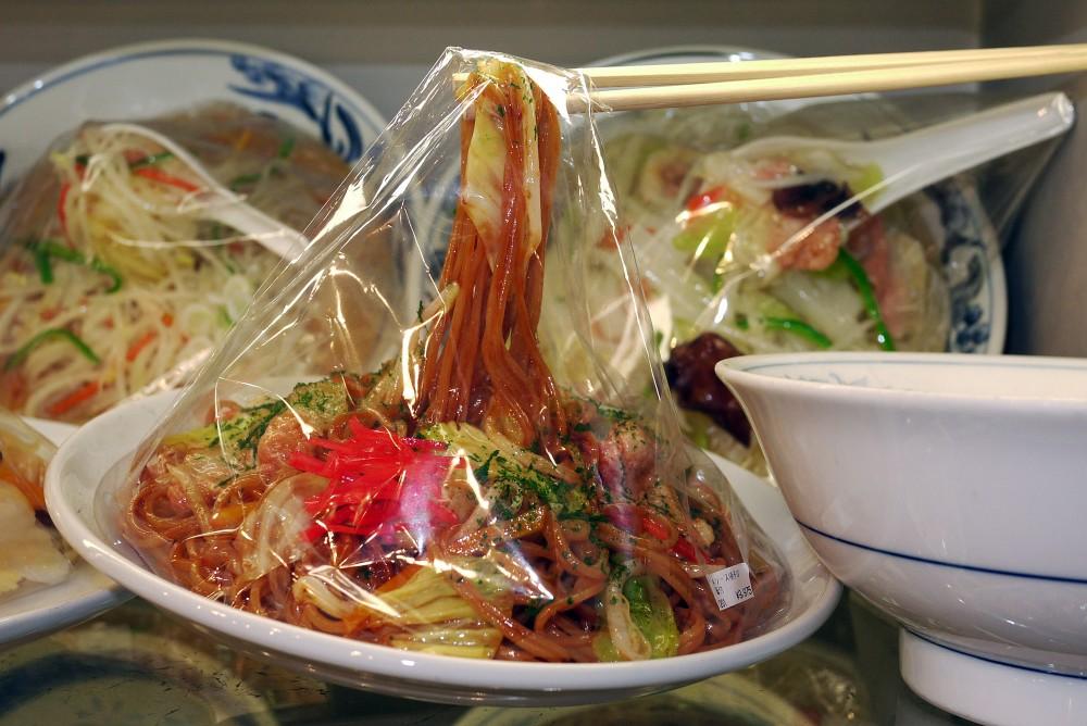 Noodles, Maizaru Sample Shop, Kappabashi, Tokyo