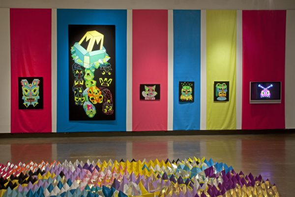 Let's Glow exhibition photo