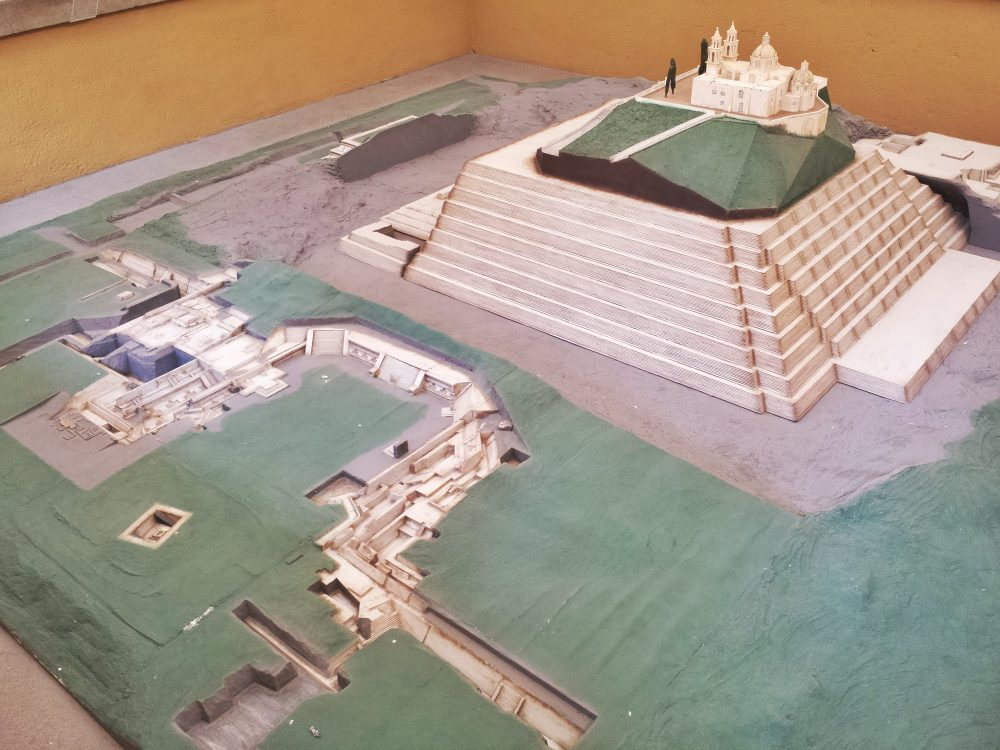 Cholula Pyramid Model