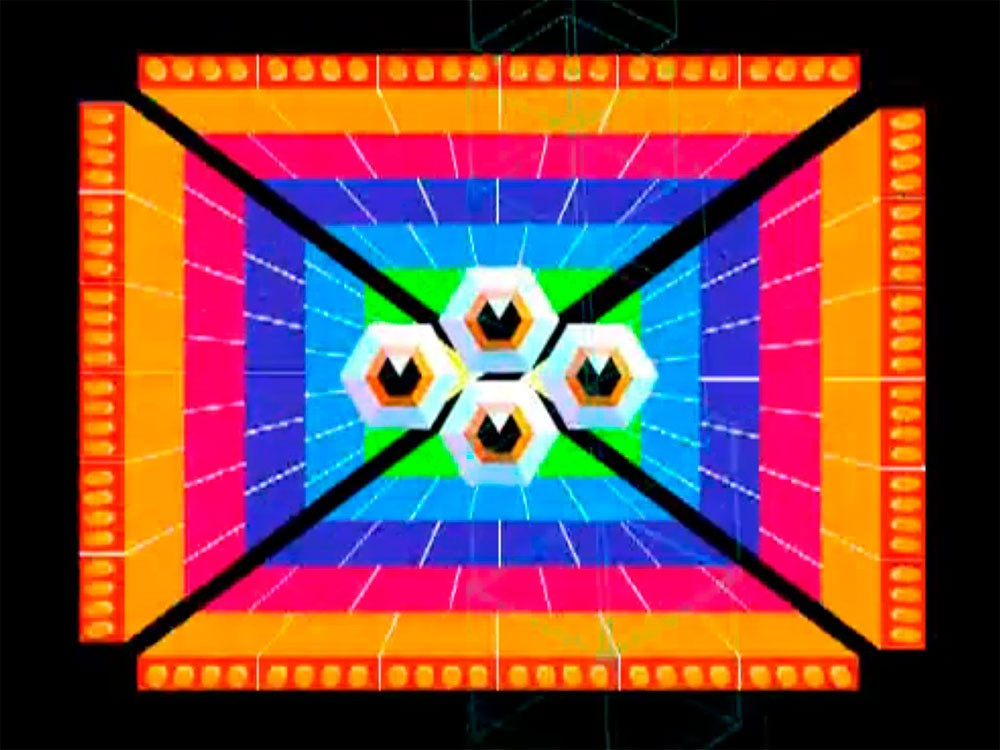 A still from the Totem Pill animation by Marc Ngui showing Circuit 6.