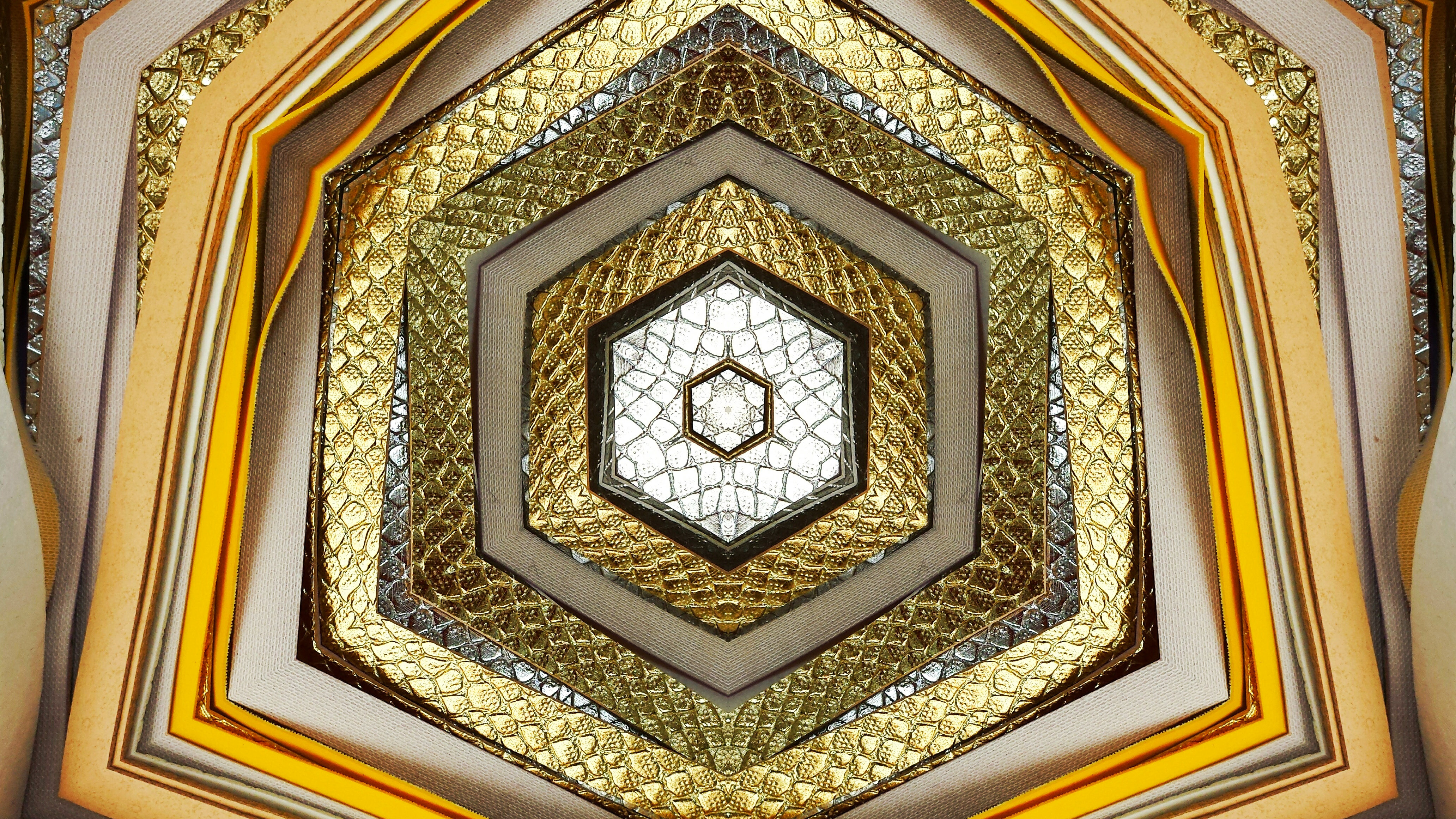 Gold textile gateway